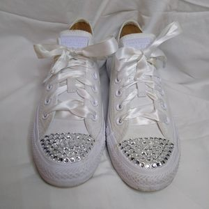 Converse All Star with crystals